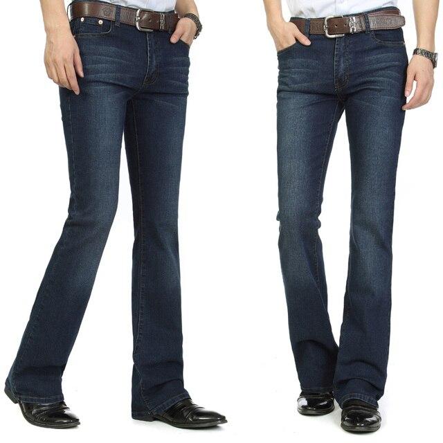 f9617a0607 Envío gratuito alta calidad novedad pantalones vaqueros para hombre  pantalones ajustados con botones de fondo de