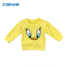 2018 Brand New Toddler Infant Child Kids Baby Girl Boy Cartoon Top T-shirt Sweatshirt Hoodie Casual Cute Clothes 6M-5T
