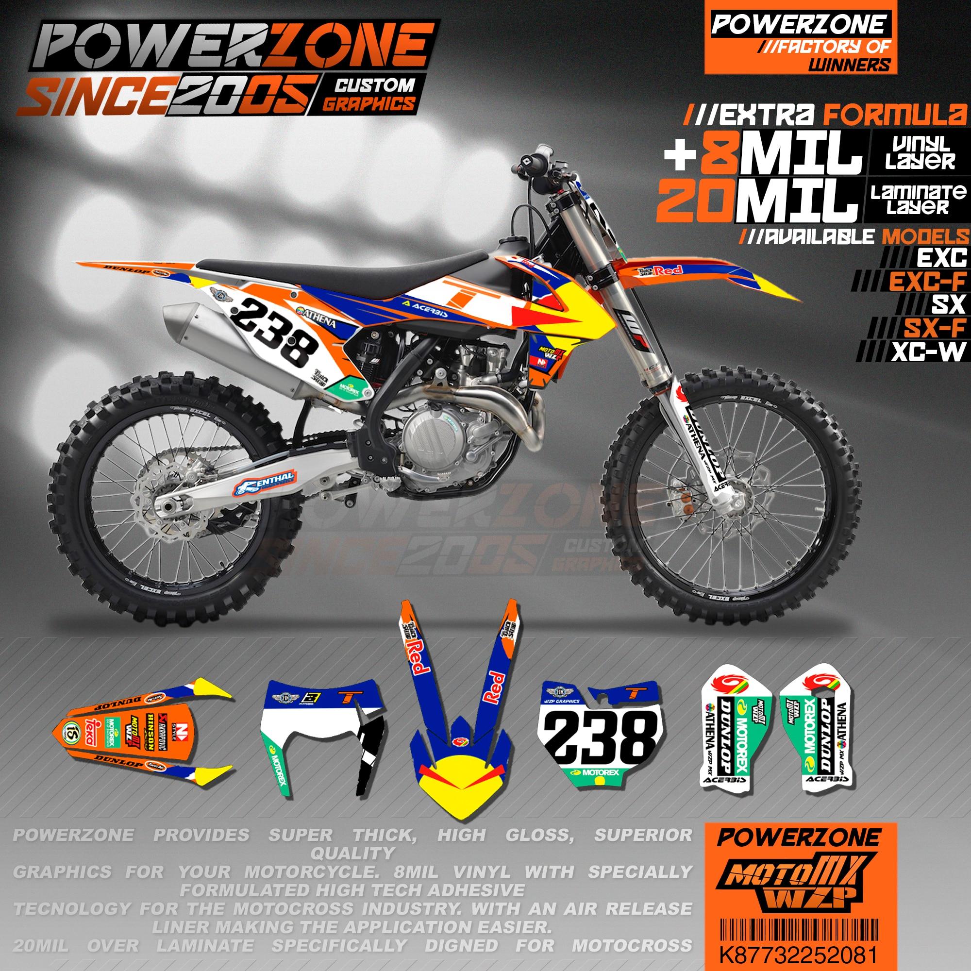 FOR KTM 125-450 2016-2018 CUSTOM RADIATOR PROTECTOR GRAPHICS MX MOTOCROSS DECALS