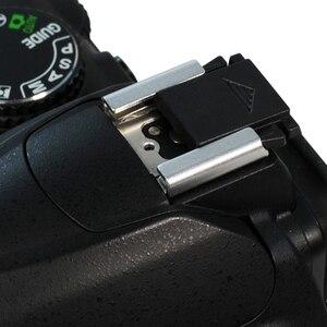 Image 5 - 5Pcs פלאש חם נעל הגנת כיסוי כובע עבור Canon ניקון אולימפוס פנסוניק Pentax DSLR SLR אביזרי מצלמה