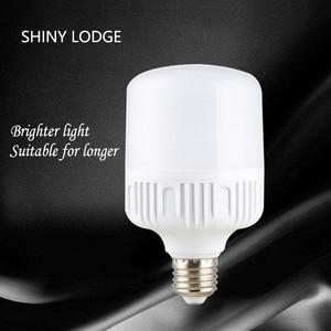 Image 5 - Led Lamp E27 B22 50W Koel Wit Licht Led Lamp AC165 265v Led Light Highlight Helderheid Spotlight Bespaar Lampada Tafel lamp