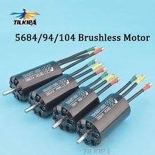 High Power 8400W/12000W/14000W SSS 5684 5694 56104 56123 Motor 230KV to 1700KV Brushless Motor 6 Poles For RC Marine Boats