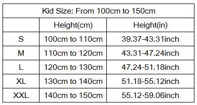 kid size