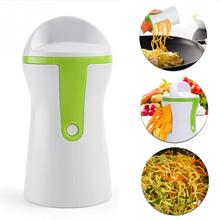Creative Handheld Kitchen Tool Fruit Rotary Peeler Carrot Vegetable Funnel Spiral Slicer Cutter Gadget Accessories