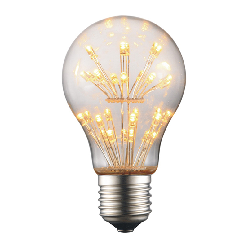 HHO Antique Edison Light Lamp Bulbs A60 220V E27 3W Tungsten Incandescent Light Bulbs Re ...
