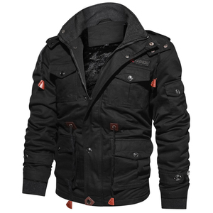 Image 1 - Hot Sale Winter Jacket Parkas Men Thick Warm Casual Outwear Jackets and Coats For Men jaquetas masculina inverno Hooded Overcoat
