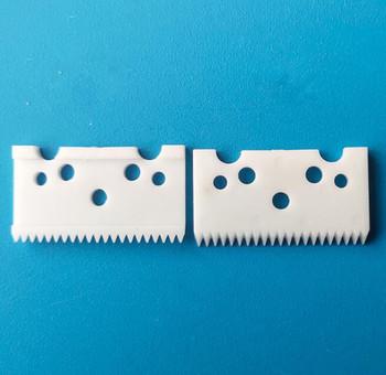 Darmowa wysyłka 5 sztuk 21 zęby ceramiczny dwutlenku cyrkonu ostrze tanie i dobre opinie