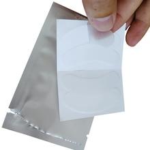 Patch pour les cils en gel fin flexible, lot de 200 paires/tampon pour les yeux spécial, tampon pour les yeux, collagène hyaluronique, Gel non sensible