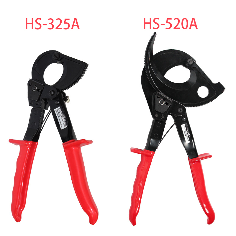 US Ratchet Cable Wire Cutter Cut UpTo 240mm² Copper aluWire Cutter HS-325A tool