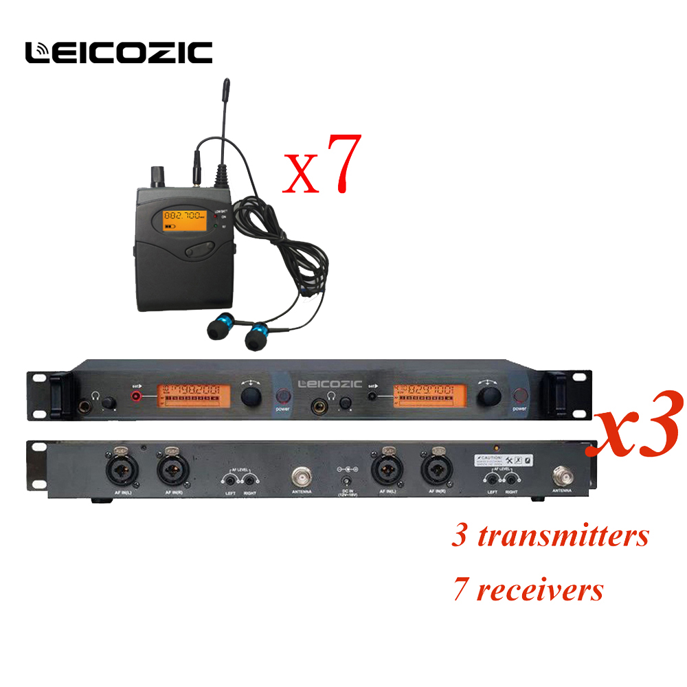 leicozic sr2050 iem monitor bk2050 wireless monitoring system ear monitor systems with 7. Black Bedroom Furniture Sets. Home Design Ideas