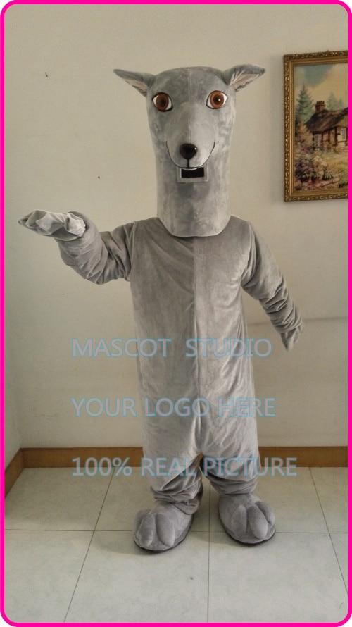 mascot Greyhound dog mascot hound dog costume custom fancy costume anime cosplay kits mascotte fancy dress carnival costume