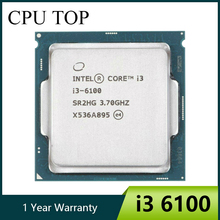 Intel Core i3 6100 3.7GHz 3M Cache Dual-Core 51W CPU Processor SR2HG LGA1151
