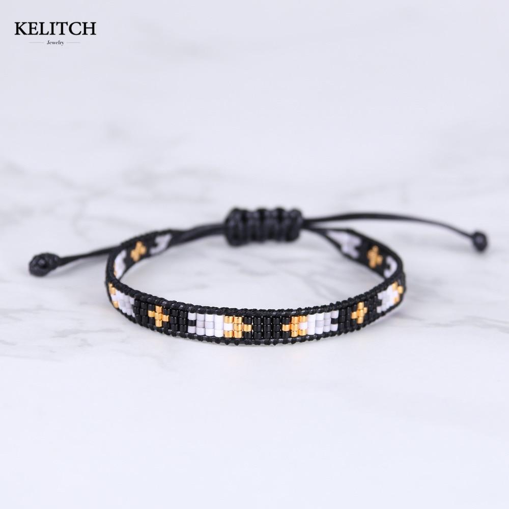 KELITCH Bracelet Jewelry charms Bracelet Adjustable Cotton Wire ...