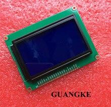128*64 точек ЖК-дисплей модуль 5 В синий экран 12864 ЖК-дисплей с подсветкой ST7920 параллельный порт ЖК-дисплей 12864
