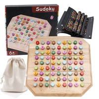 Sudoku Chess Digits 1 to 9 Wooden Puzzles Developmental Novelty Gift Educational Wooden Tangram Teaser Puzzles Toy For Children