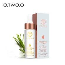 O.TWO.O, 24K золото, витаминное масло для лица, губ, макияж, увлажняет, против старения, для всех видов кожи, смесь, мощная или основная грунтовка