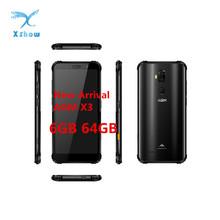 AGM X3 IP68 Smartphone 6GB 64GB Snapdragon 845 5 99 12MP 24MP Dual Rear Camera 20MP