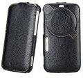 Высокое качество подлинная кожаный чехол для Samsung Galaxy K зум C1116 C1158 вертикальная чехол защитная крышка с защитой экрана