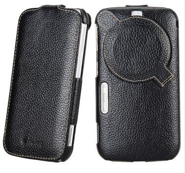 Цена за Высокое качество подлинная кожаный чехол для Samsung Galaxy K зум C1116 C1158 вертикальная чехол защитная крышка с защитой экрана