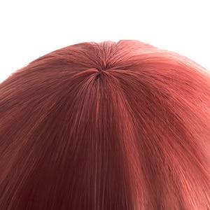 "Image 3 - L דוא""ל פאה LOL KDA Akali קוספליי פאות משחק מהדורת היוקרה K/DA פאת קוספליי סגול קוקו חום עמיד סינטטי שיער"