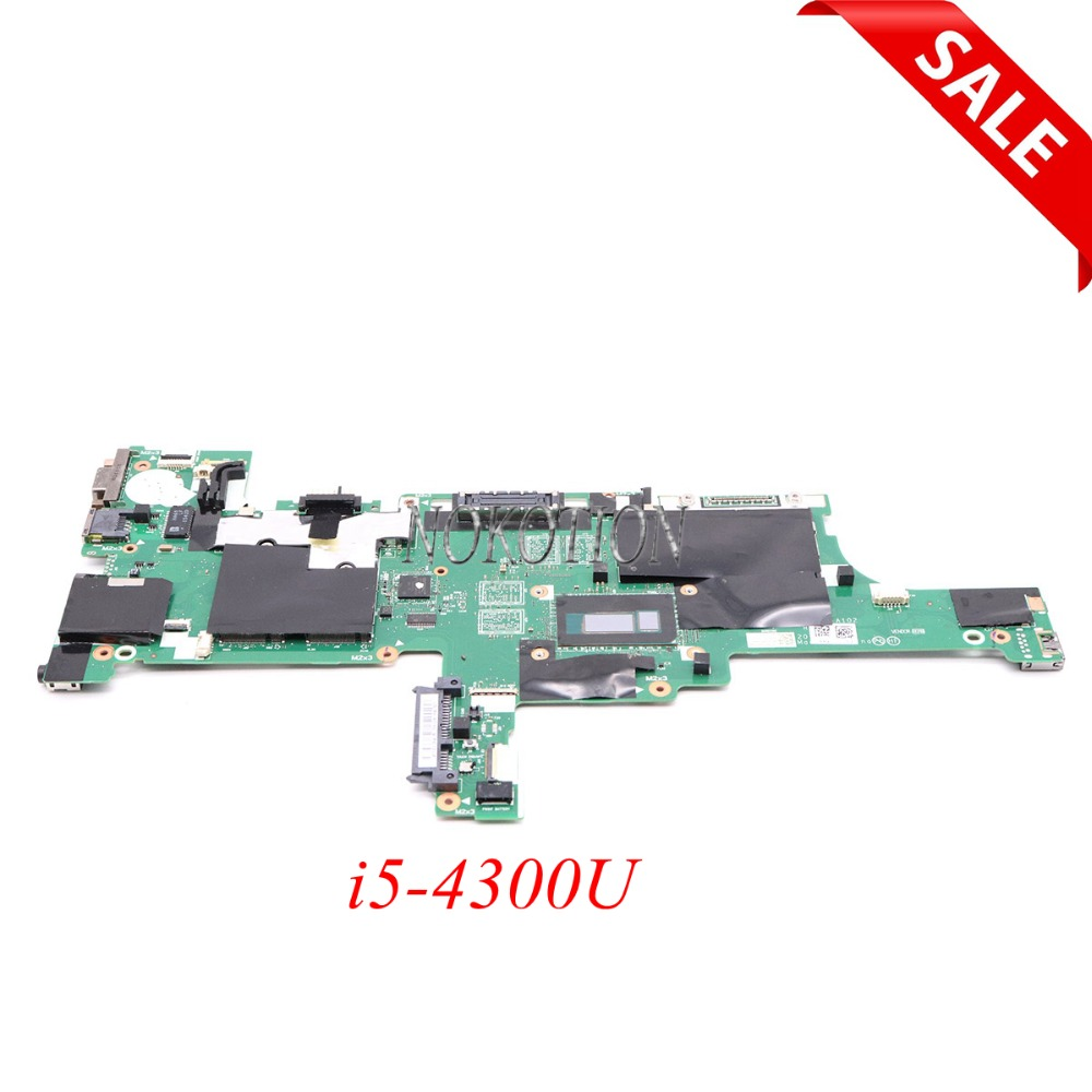 Nokotion Fru 04x5014 04x5011 For Lenovo Thinkpad T440s Laptop Motherboard Vivl0 Nm-a102 I5-4300u Main Board To Be Distributed All Over The World Laptop Accessories