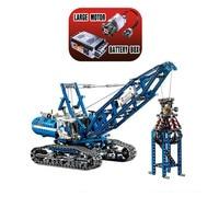 20010 1401Pcs Genuine Technic Mechanical The Crawling Crane Set Building Blocks Compatible with Legoings Toys