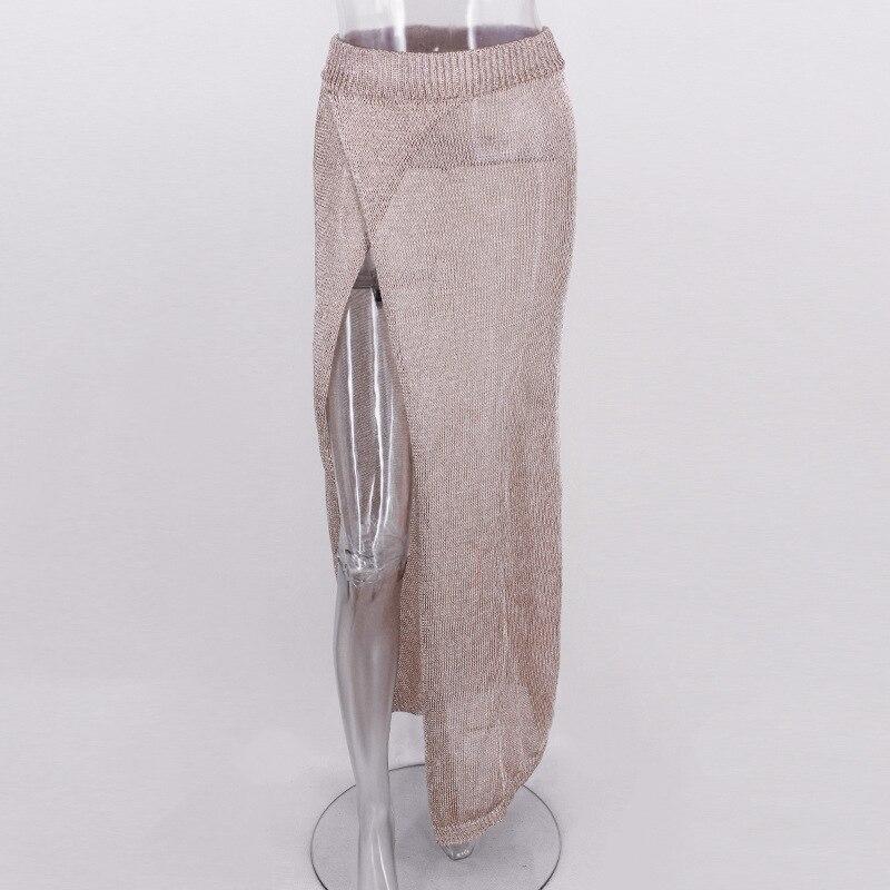 Fashion Tulle Skirt Women Casual Long Skirt 2018 New Summer Sexy High Waist Pencil Skirts Clothing For Women Elegance Female