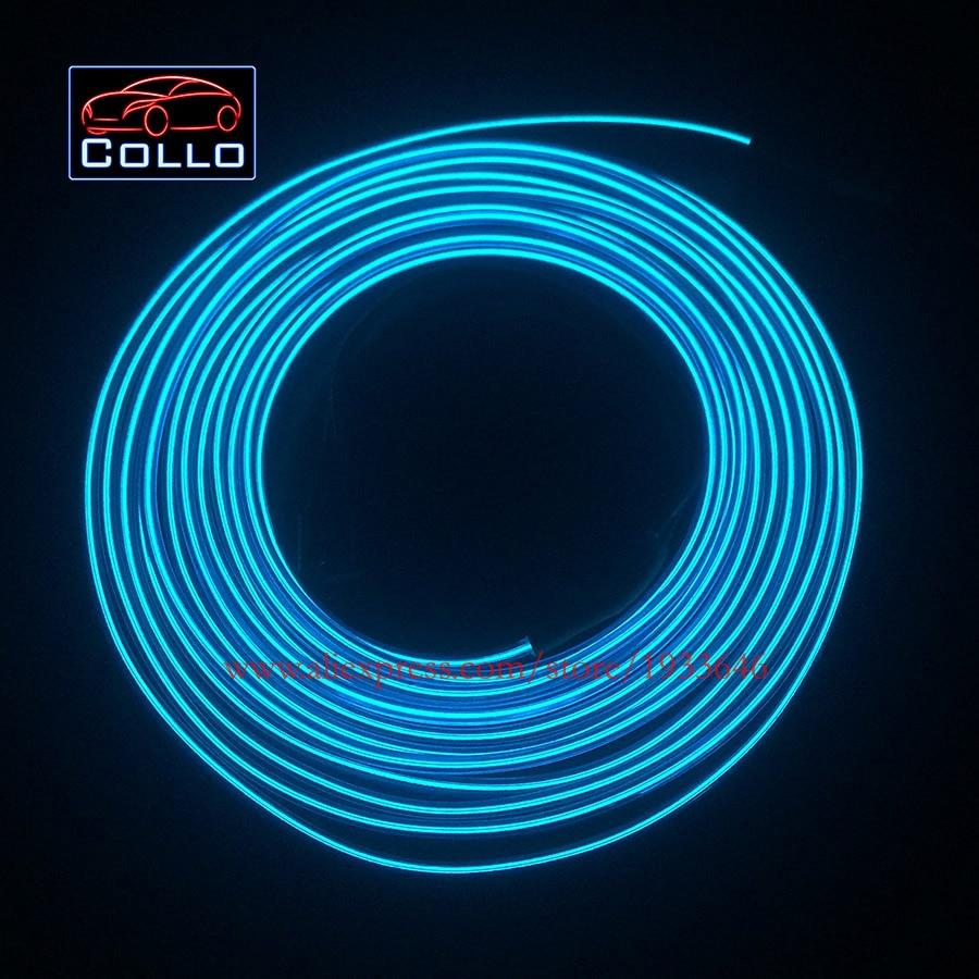 Car Console Decorative Strip / 9 Meter EL Wire For Toyota Verso / E ...
