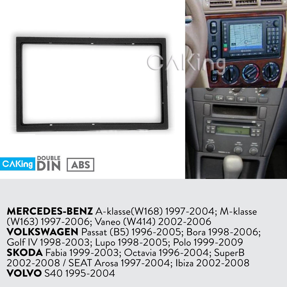 US $7 44 10% OFF|Car Fascia Radio Panel for Volkswagen Golf IV 1998  2003