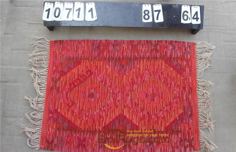 Hand Woven Kilim Carpet Needlepoint For Carpets Living Room Rectangle Carpet Natural Sheep Wool - 2