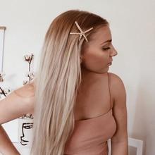 Retro Starfish Hairpin Summer Beach Metal Hair Clip For Women Accessories 2019 New Barrettes Headband