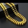 Collier collares femme 2016 hip hop jewelry 24 K corrente de ouro maxi colar de hiphop que bling colar de jóias finas para mulheres dos homens presente