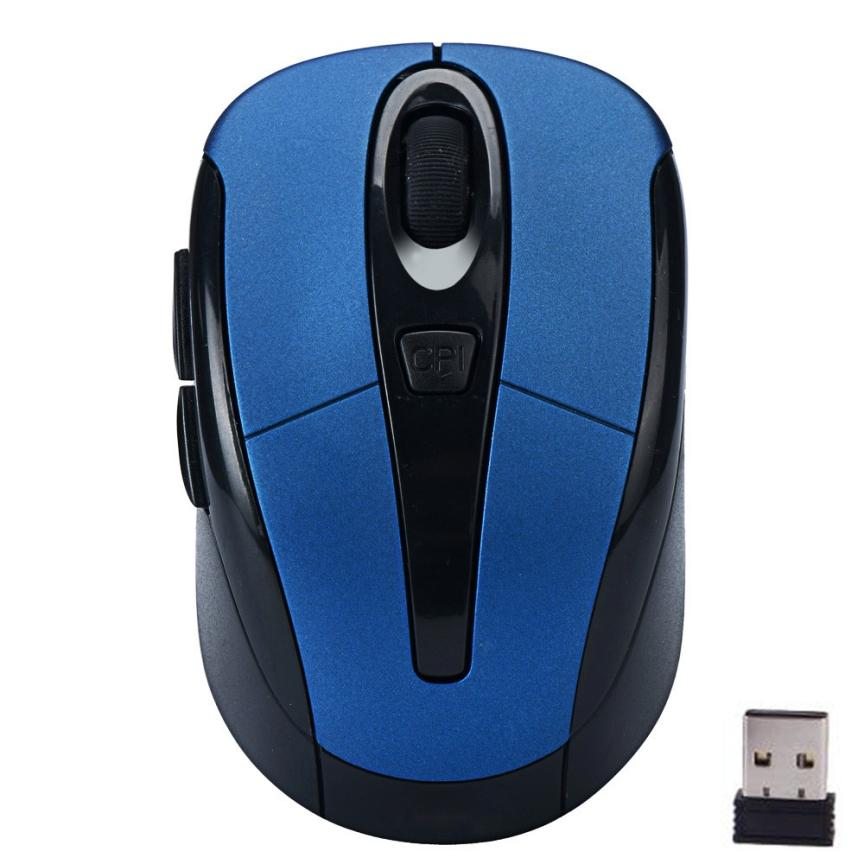 Adroit 2.4G Wireless Mouse Adjustable 1600DPI Optical Mice Portable Maus For Computer PC Laptop Gamer 29S7531 drop shipping карта видеозахвата avermedia live gamer portable