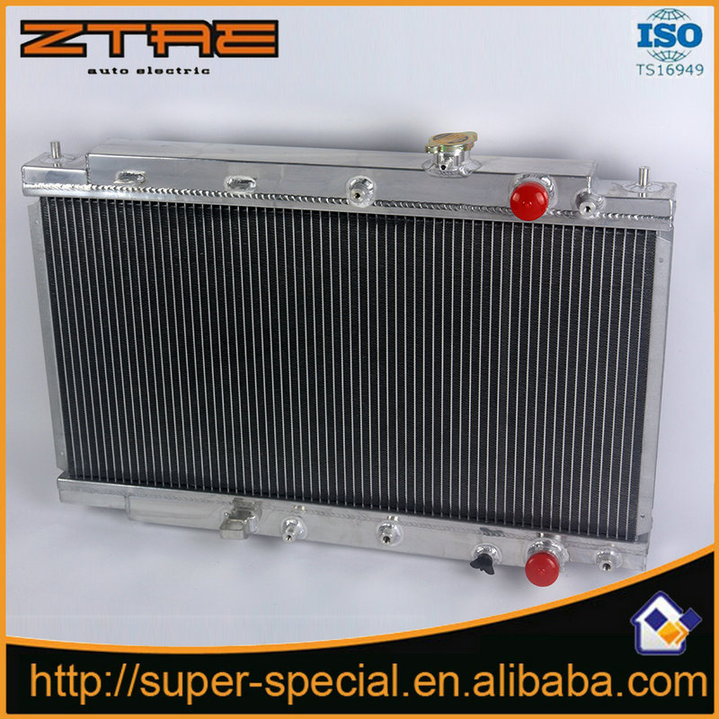 High Quality AUTO Replacement Radiator 2 ROW ALUMINUM Car