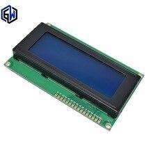 5 pces lcd módulo azul 2004 5v lcd azul fornece arquivos de biblioteca lcd 2004