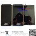Ok prueba original blanco/negro/azul pantalla lcd display + touch digiziter con marco para htc desire 626 626g single/doble tarjeta sim