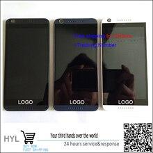 Original-test ok weiß/schwarz/blau lcd display + touch digiziter mit rahmen für htc desire 626 626g single/dual-sim-karte