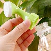 1 pçs pequenas ferramentas de jardinagem rega sprinkler portátil casa vaso planta waterer garrafa água pulverizador alta qaulity