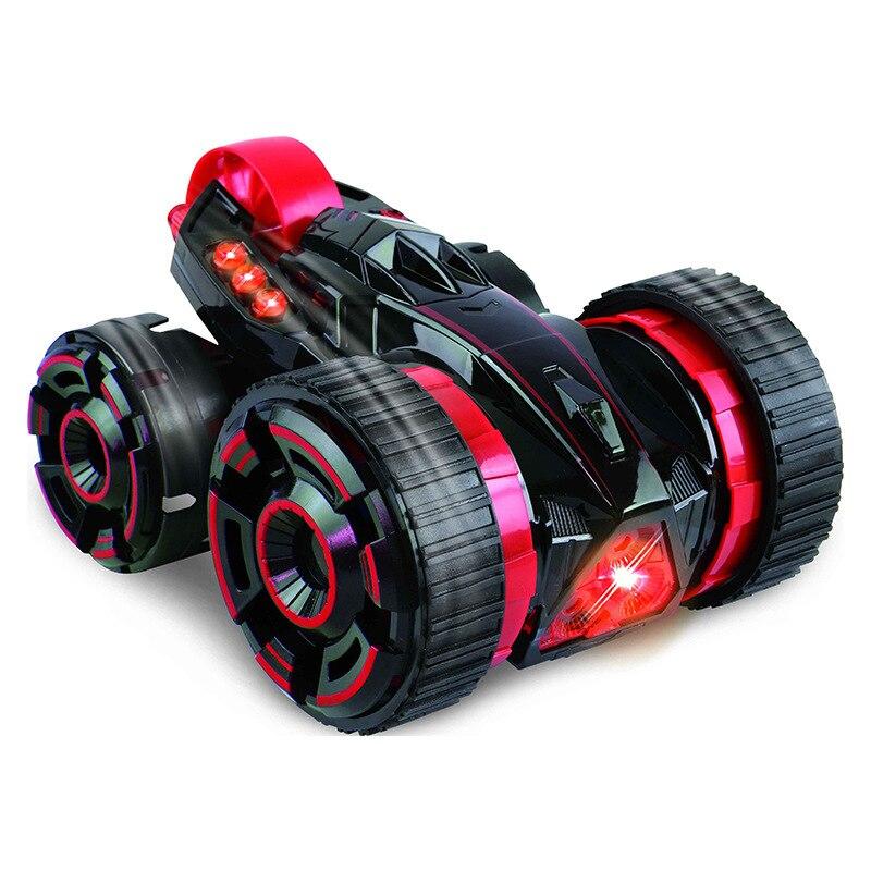 Voiture télécommandée jouet électrique acrobatie voiture 6ch cinq tours cascadeur voiture Rc pour enfants enfants RC jouets cadeau