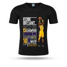 584cae3a4a0 2019 Kobe Bryant champion mvp black mamba fashion 100% cotton funny t shirt  for la