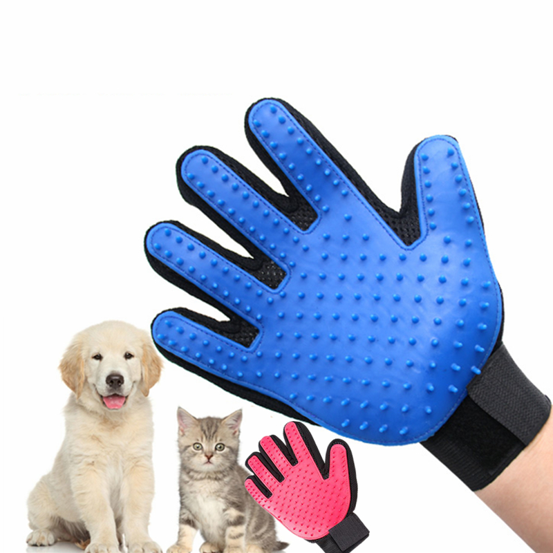 Hot Sale Pet Cat Dog Brush Comb Hair Cleaning Brush Comfortable Massage And Effective Massage Gloves
