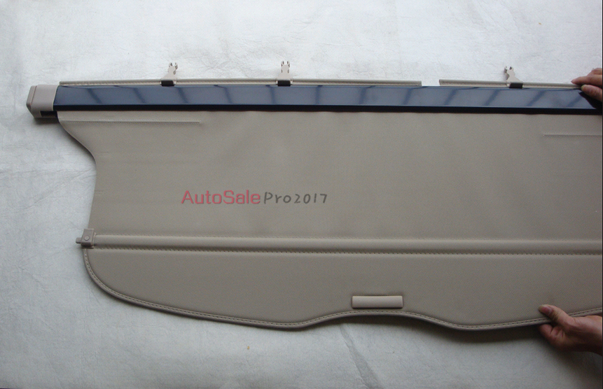 Aluminium alloy + Fabric Rear Trunk Security Shield Cargo Cover Rear Racks Accessories For Toyota Highlander 2009 2010 2011-2013 car rear trunk security shield cargo cover for volkswagen vw tiguan 2016 2017 2018 high qualit black beige auto accessories