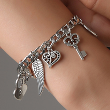 Hot Sale Charming Bracelets&Bangles Woman Pendant Bracelet Adjustable Wrap Cuff Bangle Jewelry Gift