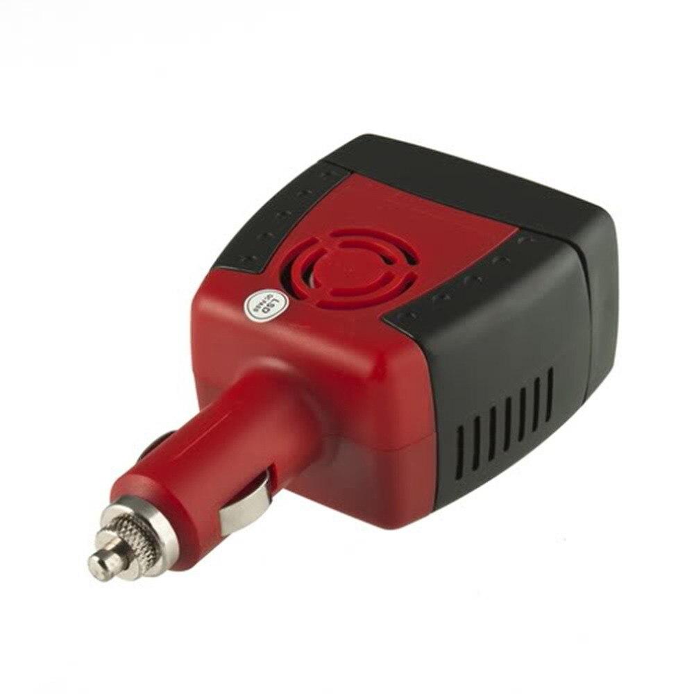 Nouveau Allume-cigare Alimentation 12 V DC à 220 V AC 150 W Onduleur de Voiture Adaptateur avec Chargeur USB Port Top qualité