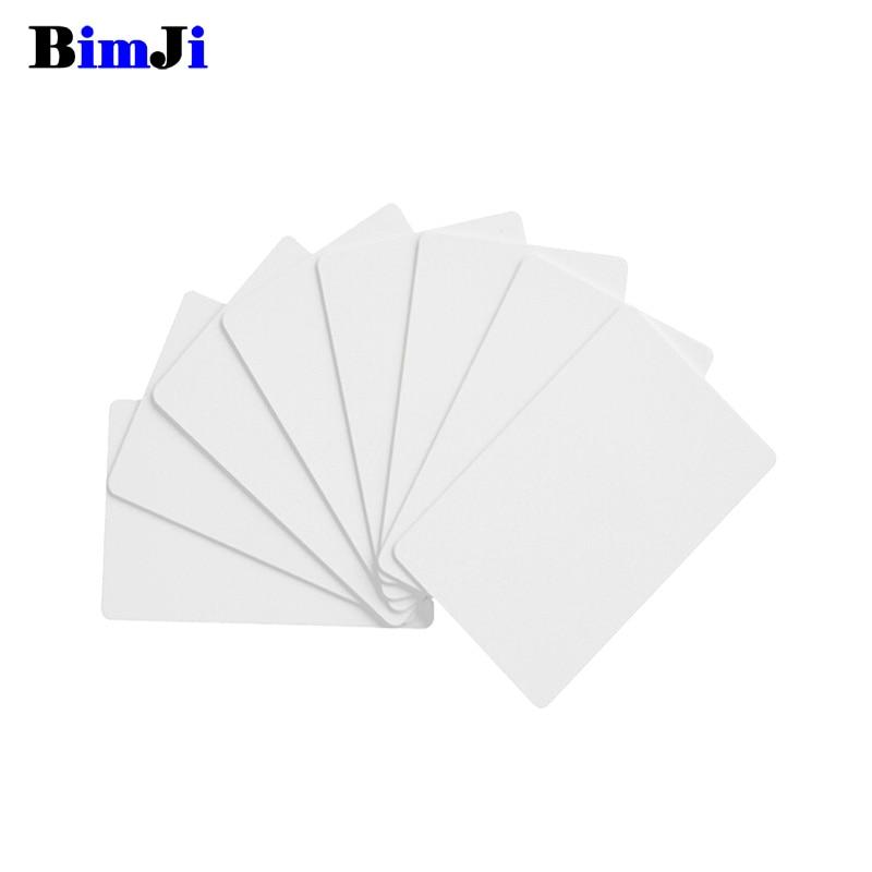 EM4305 T5577 Blank Card RFID Chip Cards 125 khz Copy Rewritable Writable Rewrite Duplicate 125khz(China)