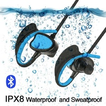 XIHU Wireless Earphones IPX8 Waterproof Sweatproof Noise Cancelling Adjustable Music Calling Swimming Sports Bluetooth Earphone