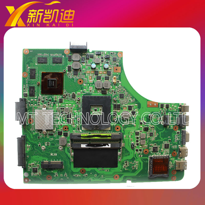Original laptop motherboard for asus K53SV REV:3.1 USB3.0 GT540M 1G 60-N3GMB1900-B01 mainboard original new for asus n43sl laptop motherboard rev 2 0 ddr3 hm65 gt540m 1g n12p gt a1 mainboard