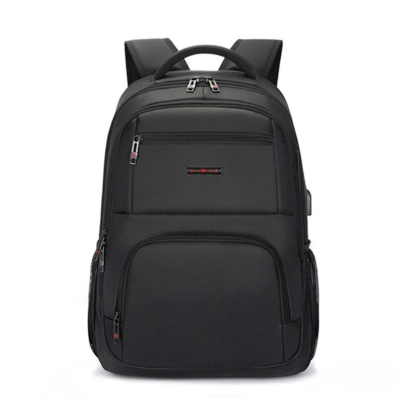2017 Men's Backpacks Multifunction USB charging 15inch Laptop Backpack For Teenager Waterproof Women Backpack School Bags