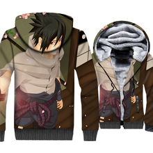 Hot Sale Clothes 2019 Naruto Anime Hoodies Streetwear 3D High Quality Mens Jacket Hip Hop Zipper Hoody Casual Unisex Thick Coat