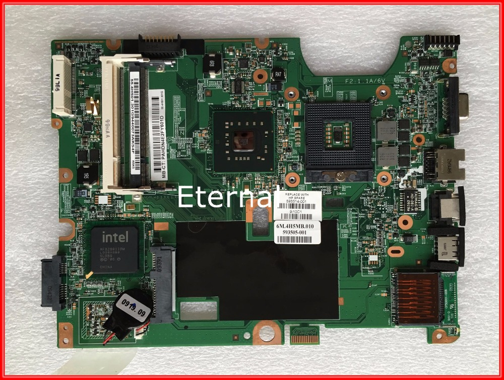 593314-001 laptop motherboard for HP CQ50 Notebook PC System board / main board DDR2 100% tested
